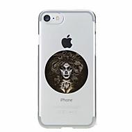 Para Estampada Capinha Capa Traseira Capinha Mulher Sensual Macia TPU para AppleiPhone 7 Plus / iPhone 7 / iPhone 6s Plus/6 Plus / iPhone