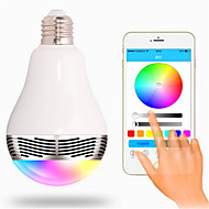 E27 85v-265v 6W Wireless Bluetooth 4.0 Mobile Phone Control APP Creative RGB Colorful Dimming Intelligent LED Lights