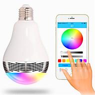 6W E26/E27 Smart LED-lampe G80 20 SMD 5050 400 lm RGB Dekorativ / Bluetooth AC 85-265 V 1 stk.
