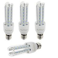 7W E26/E27 LEDコーン型電球 T 36 SMD 2835 600 lm 温白色 / クールホワイト 装飾用 V 4個