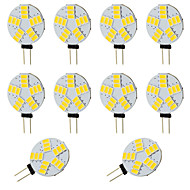 3W G4 LED à Double Broches T 15 SMD 5730 210 lm Blanc Chaud / Blanc Froid V 10 pièces