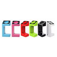 portable Unterstützung für apple Uhr einfarbig Apfel Uhr Ladestation mit Kleinkasten 6 Farben