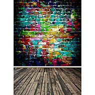Rainbow Color Background Photo Studio  Photography Backdrops 5x7FT