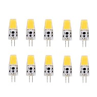 2W G4 LED Corn Lights T 1 COB 1508  220-240 lm Warm White AC/DC 12 V 10 pcs