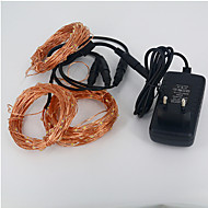 Copper string Christmas tree small lantern waterproof suit 30M 300LED 12V 3A power supply