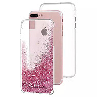 のために リキッド ケース バックカバー ケース キラキラ ハード PC のために Apple iPhone 7プラス / iPhone 7 / iPhone 6s Plus/6 Plus / iPhone 6s/6