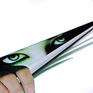 ZIQIAO Funny Car Sticker 3D Eyes Peeking Monster Voyeur Car Hoods  Rear Window Decal