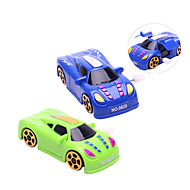Wind-up Toy Novelty Toy Toys Novelty Car Plastic Cyan Blue For Boys For Girls Random Color