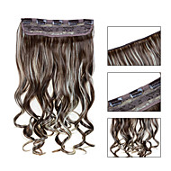 5 Clips wellig 12/613 Kunsthaar Clip in Haarverlängerungen für Damen mehr Farben zur Verfügung
