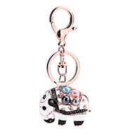 Key Chain Elephant Key Chain Ivory Metal