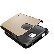 Varten Samsung Galaxy kotelo Iskunkestävä Etui Takakuori Etui Panssari PC Samsung S5