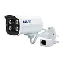 エスカム®レンガqd300 ipカメラ1.0 mp 720p屋外昼夜の防水モーション検知デュアルストリームirカットonvif