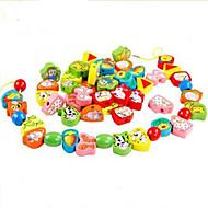 Minsker stress / Pædagogisk legetøj Hobbylegetøj Legetøj Originale Cirkelformet / Kugle / Cylinder-formet Træ RegnbueTil drenge / Til
