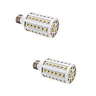 2 pcs 10W E27 LED Corn Lights T 60 SMD 5050 880 lm Warm White AC 220-240 V