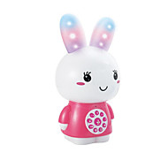 Pretend Play Music Toys Leisure Hobby Toys Novelty Rabbit Metal Plastic Blue Pink For Girls Random Color