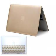 κορυφή πώληση μεταλλικό στυλ PVC σκληρό γεμάτο περίπτωση το σώμα και TPU κάλυψη πληκτρολόγιο για MacBook Pro 13.3 ιντσών (διάφορα χρώματα)