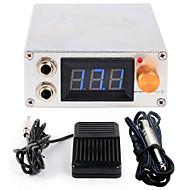 LCD 0.7 전원 플러그 전문 전력 발 스위치 디지털 문신