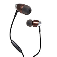 Nøytral Produkt KDK-201 Øreplugg-hodetelefoner (i ørekanalen)ForMedie Avspiller/Tablett Mobiltelefon ComputerWithMed mikrofon DJ FM Radio