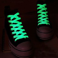 Fashion Men Women Light Up LED Shoelaces Party Glowing Night Running Shoe Laces Club Highlight Luminous Shoelace