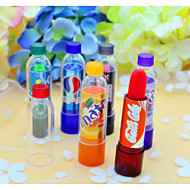 6Pcs Makeup Change Color Cola Sweet Cute Moisturizer Faint Scent Lip Balm Lipstick