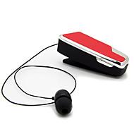 中性生成物 伸缩 ワイヤレスイヤホンForメディアプレーヤー/タブレット 携帯電話 コンピュータWithマイク付き DJ ボリュームコントロール ゲーム スポーツ ノイズキャンセ Hi-Fi Bluetooth