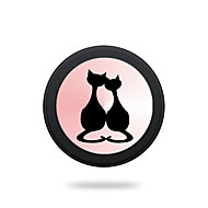 Portable  Cat Couples  Wireless Charging Pad/Stand for All QI-Enabled Devices Samsung Galaxy S7  S7 Edge S6   S6 EdgeGoogle Nexus 4  5