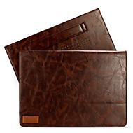 para el aire de MacBook Pro 11.3 12 13.3 cubierta de cuero con soporte de 15 grados mangas bolsa de ordenador portátil stent