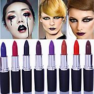 1Pcs Matte Band Makeup Vampire Dark Red Lip Tattoo Cosmetic Purple Waterproof Matte Lipstick Lot Labiales Matte