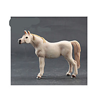 Pretend Play Model & Building Toy Toys Novelty Horse Plastic White
