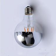 4W E26/E27 LED-glødetrådspærer G95 4 Integreret LED 400 lm Varm hvid Dekorativ Vekselstrøm220 V 1 stk.