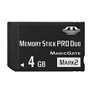 Other 4GB Tarjeta de Memoria Stick PRO Duo Clase 4