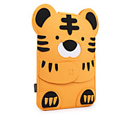 For MacBook Air Pro 11.3 12 13.3 15.4 Sleeves Case Cover Cartoon Animals Felt Lovely Laptop Bag Raccoon Tiger