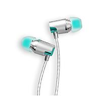 dzat dr-20 3.5mm korvalla kuuloke DIY dj kuulokkeet metalli nappikuulokkeet raskas basso musiikkia hifi hearphone earpods mikrofonilla