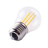 Dimmable G45 4W E27 Led Filament Light COB Edison Lamp Warm/Cool White Vintage Glass Tubular Lights Incandescent Bulba AC220V