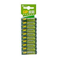 gp gp24g-2isp10 aaa zink-koolstof batterij 1.5v 10 pack