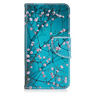 إلى محفظة حامل البطاقات مع حامل قلب غطاء كامل الجسم غطاء زهور قاسي جلد اصطناعي إلى Samsung J5 (2016) J3 (2016) J3 Prime