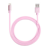 yellowknife MFi Certified Lightning to USB Cable Aluminium Plug  Data Sync & Charger Cable for iphone 6S/6S plus(100cm)