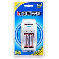 Nanfu νικελίου AA υδριδίου μετάλλου επαναφορτιζόμενη μπαταρία 1.2V 1600mAh 3 pack