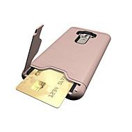 ASUS zenfone 3 ze552kl (5,5) suojus kortin haltija iskunkestävä jalustan takakansi