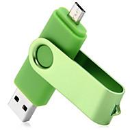 2 en 1 64gb unidad flash USB OTG 2.0 para el ordenador portátil / teléfono / PC / Mac / portátil inteligente, etc.
