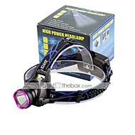 U'King® ZQ-X804 CREE XM-L T6 2000LM 3Modes Zoomable Headlamp Purple Head
