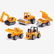 Toys Model & Building Toy Forklift Excavating Machinery Metal Plastic Christmas Birthday Children's Day