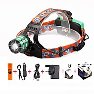 U'king ZQ-G70000Green#-UK CREE T6 LED 2000LM 3Mode Adjustable Focus Headlamp Bike Light Kit for Camping/Hiking/Caving Everyday Use Cycling