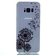 Mert Foszforeszkáló Minta Case Hátlap Case Pitypang Puha TPU mert Samsung S8 S8 Plus S7 edge S7 S6 edge plus S6 S5 S4 Mini S4 S3
