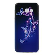 Für Muster Hülle Rückseitenabdeckung Hülle Schmetterling Weich TPU für Samsung A5 (2017)