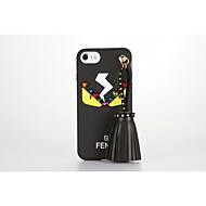 For Mønster GDS Etui Bagcover Etui Tegneserie Glitterskin Blødt TPU for AppleiPhone 7 Plus iPhone 7 iPhone 6s Plus iPhone 6 Plus iPhone