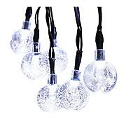 0.1W W ストリングライト / lm <5V 6 m 30 LEDの ホワイト