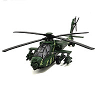Samolot i helikopter Pojazd nakręcany od tyłu Zabawki Samochodowe 1:32 Metal Tworzywo sztuczne Zielony Biały Model / klocki