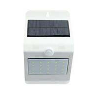 zonne lichtregeling menselijk lichaam sensor zonne wandlamp wit 20 4 warm wit led tiptoetsschakelaar lights