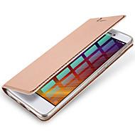 Mert Kártyatartó Flip Mágneses Case Teljes védelem Case Egyszínű Kemény Műbőr mert XiaomiXiaomi Redmi 4 Xiaomi Redmi Note 4 Xiaomi Mi 5s